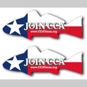CCATX-Lone Star Redfish Decals